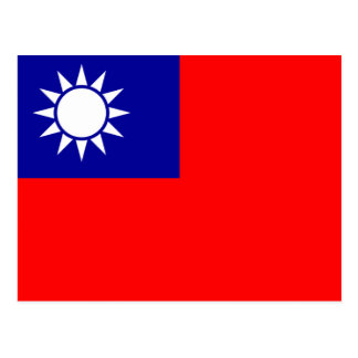 Flag of The Republic of China Postcard