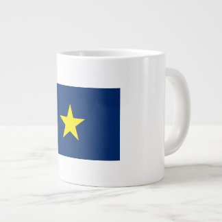 Flag of the Republic of Texas Giant Coffee Mug