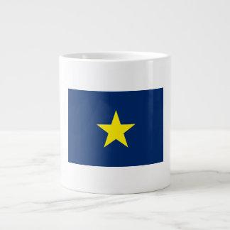 Flag of the Republic of Texas Large Coffee Mug