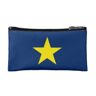 Flag of the Republic of Texas Makeup Bag