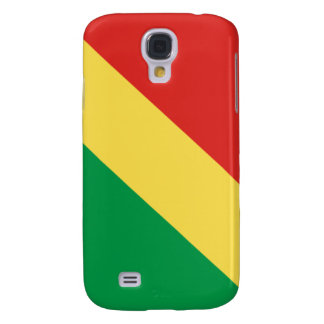 Flag of the Republic of the Congo Samsung Galaxy S4 Covers