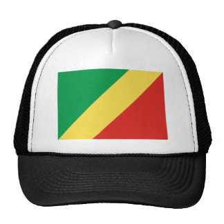 Flag of the Republic of the Congo Mesh Hat
