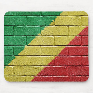 Flag of the Republic of the Congo Mouse Pad