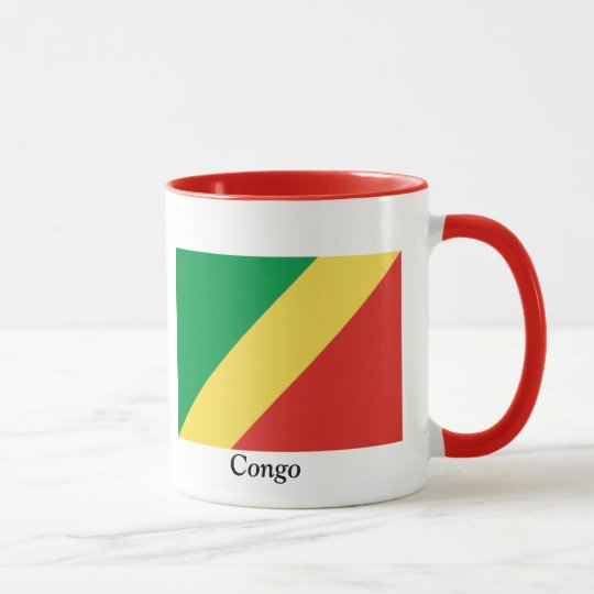 Flag of the Republic of the Congo Mug