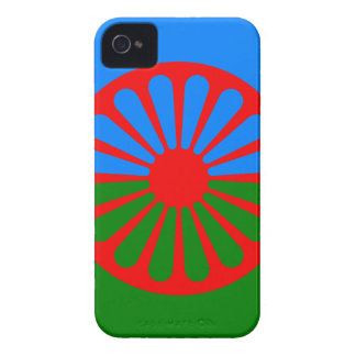 Flag of the Romani people - Romani flag Case-Mate iPhone 4 Case