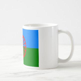 Flag of the Romani people - Romani flag Coffee Mug