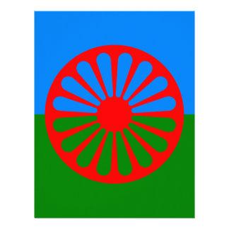 Flag of the Romani people - Romani flag Letterhead