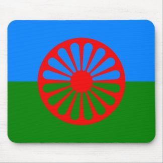 Flag of the Romani people - Romani flag Mouse Pad