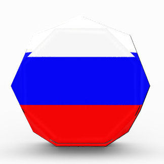 Flag of the Russian Federation - Флаг России Acrylic Award