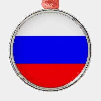 Flag of the Russian Federation - Флаг России Metal Ornament