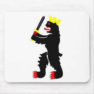 Flag of the Satakunta Region in Finland Mouse Pad