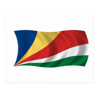 Flag of the Seychelles Postcard