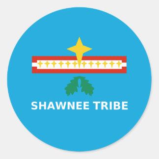 Flag of The Shawnee Tribe of Oklahoma Sticker