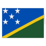 Flag of the Solomon Islands Greeting Cards
