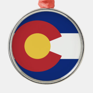 Flag of the State of Colorado Metal Ornament