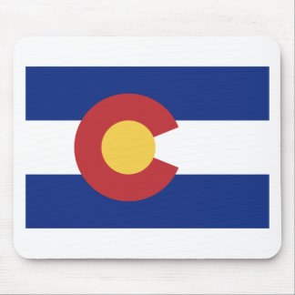 Flag of the State of Colorado Mouse Pad