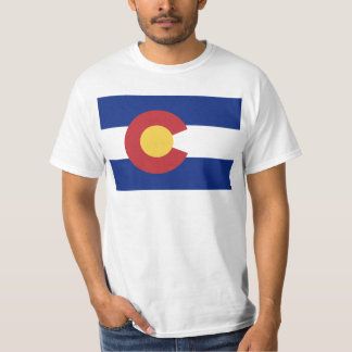 Flag of the State of Colorado T-Shirt