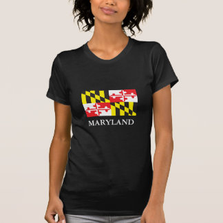 Flag of the state of Maryland Tees