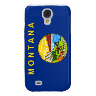 Flag of the State of Montana Samsung Galaxy S4 Covers