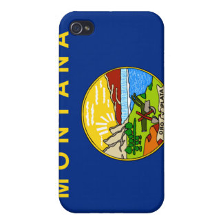 Flag of the State of Montana iPhone 4/4S Case