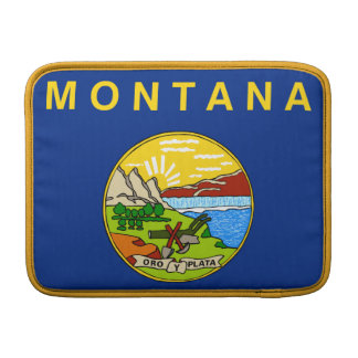 Flag of the State of Montana MacBook Air Sleeves