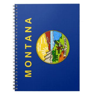 Flag of the State of Montana Notebook