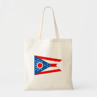 Flag of the State of Ohio Tote Bag