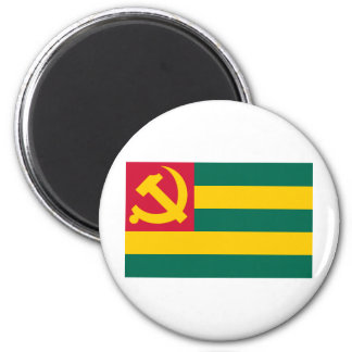 Flag of the Togo Communist Party Magnets