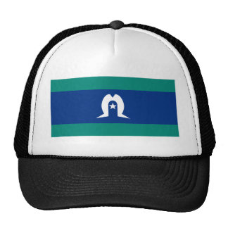 Flag of the Torres Strait Islands Mesh Hats