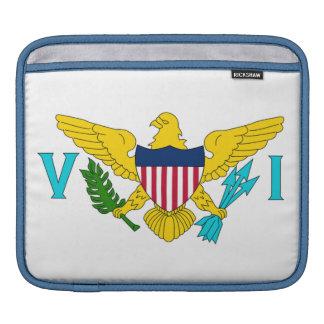 Flag of the U.S. Virgin Islands iPad Sleeve
