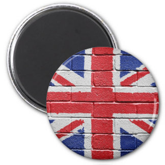 Flag of the UK 2 Inch Round Magnet