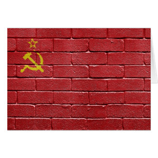 Flag of the Union of Soviet Socialist Republics Stationery Note Card