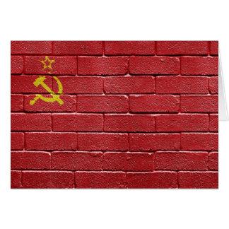 Flag of the Union of Soviet Socialist Republics Card