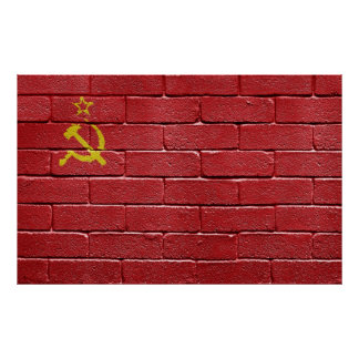 Flag of the Union of Soviet Socialist Republics Poster