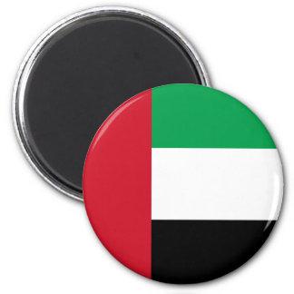 Flag of the United Arab Emirates 2 Inch Round Magnet