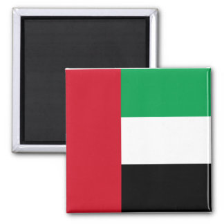Flag of the United Arab Emirates 2 Inch Square Magnet