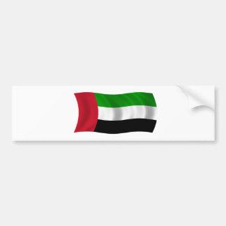 Flag of the United Arab Emirates Bumper Sticker