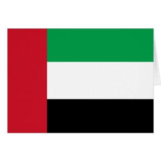 Flag of the United Arab Emirates Card