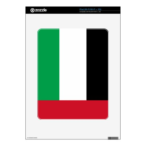 Flag of the United Arab Emirates iPad Skins