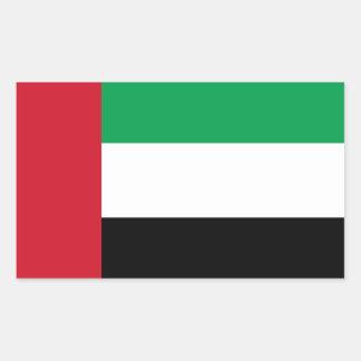 Flag of the United Arab Emirates Rectangular Sticker