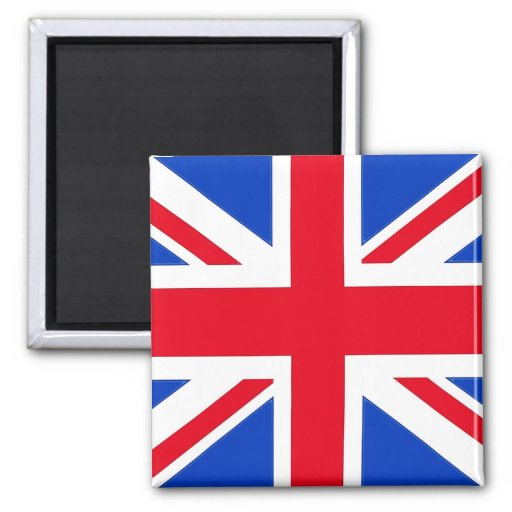 Flag of the United Kingdom 2 Inch Square Magnet