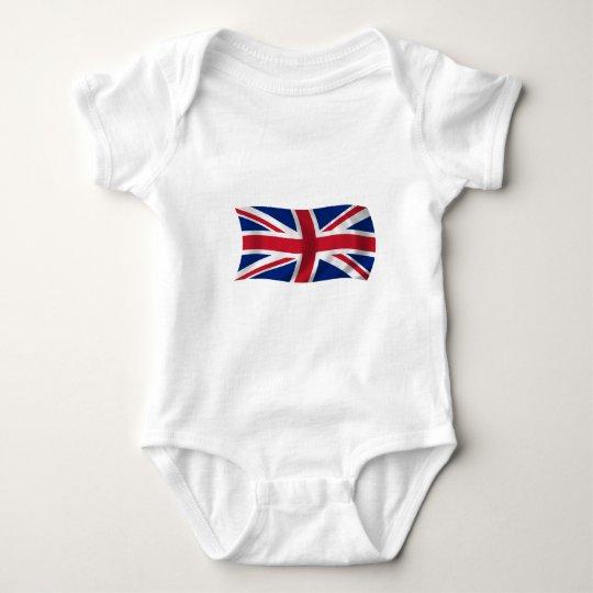 Flag of the United Kingdom Baby Bodysuit