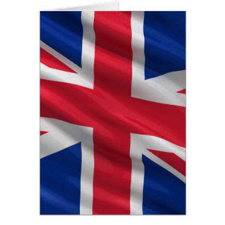 Flag of the United Kingdom Card