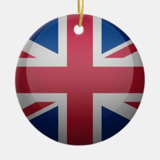 Flag of the United Kingdom Ceramic Ornament