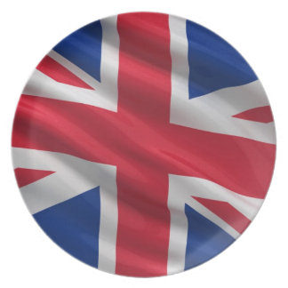 Flag of the United Kingdom Dinner Plates