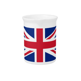 Flag of the United Kingdom Drink Pitchers