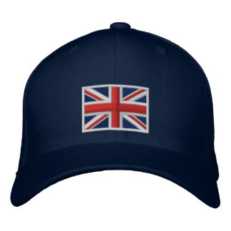 Flag of the United Kingdom Embroidered Hats