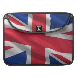 Flag of the United Kingdom MacBook Pro Sleeves