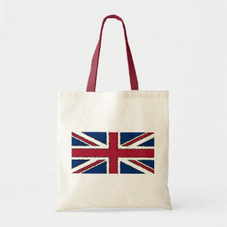 Flag of the United Kingdom of Great Britain Canvas Bags