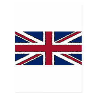 Flag of the United Kingdom of Great Britain Postcard
